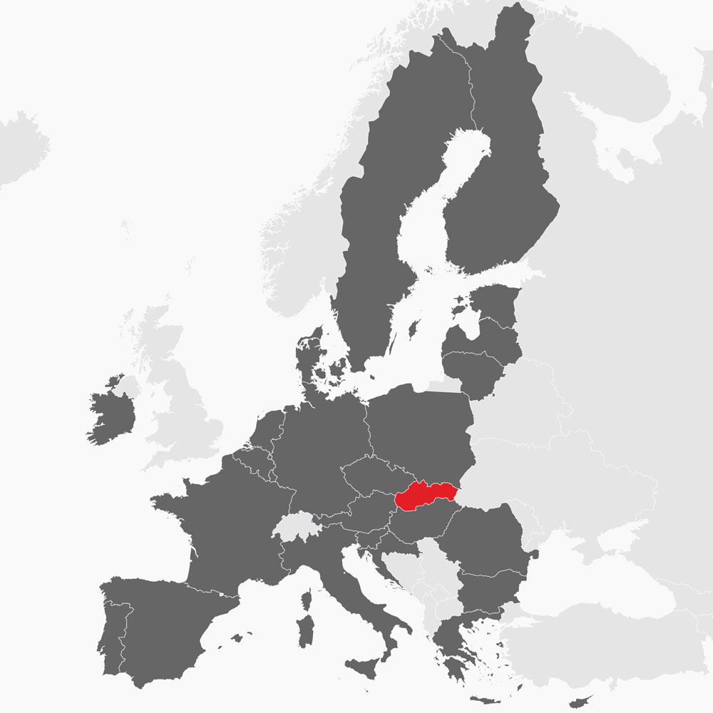 Mapa EÚ